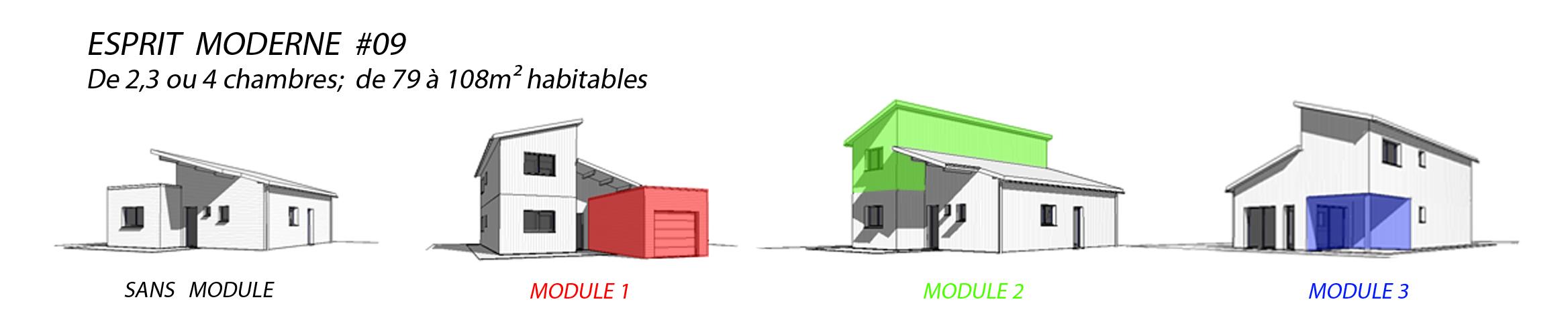 esprit moderne 09 habitat poulingue. Black Bedroom Furniture Sets. Home Design Ideas
