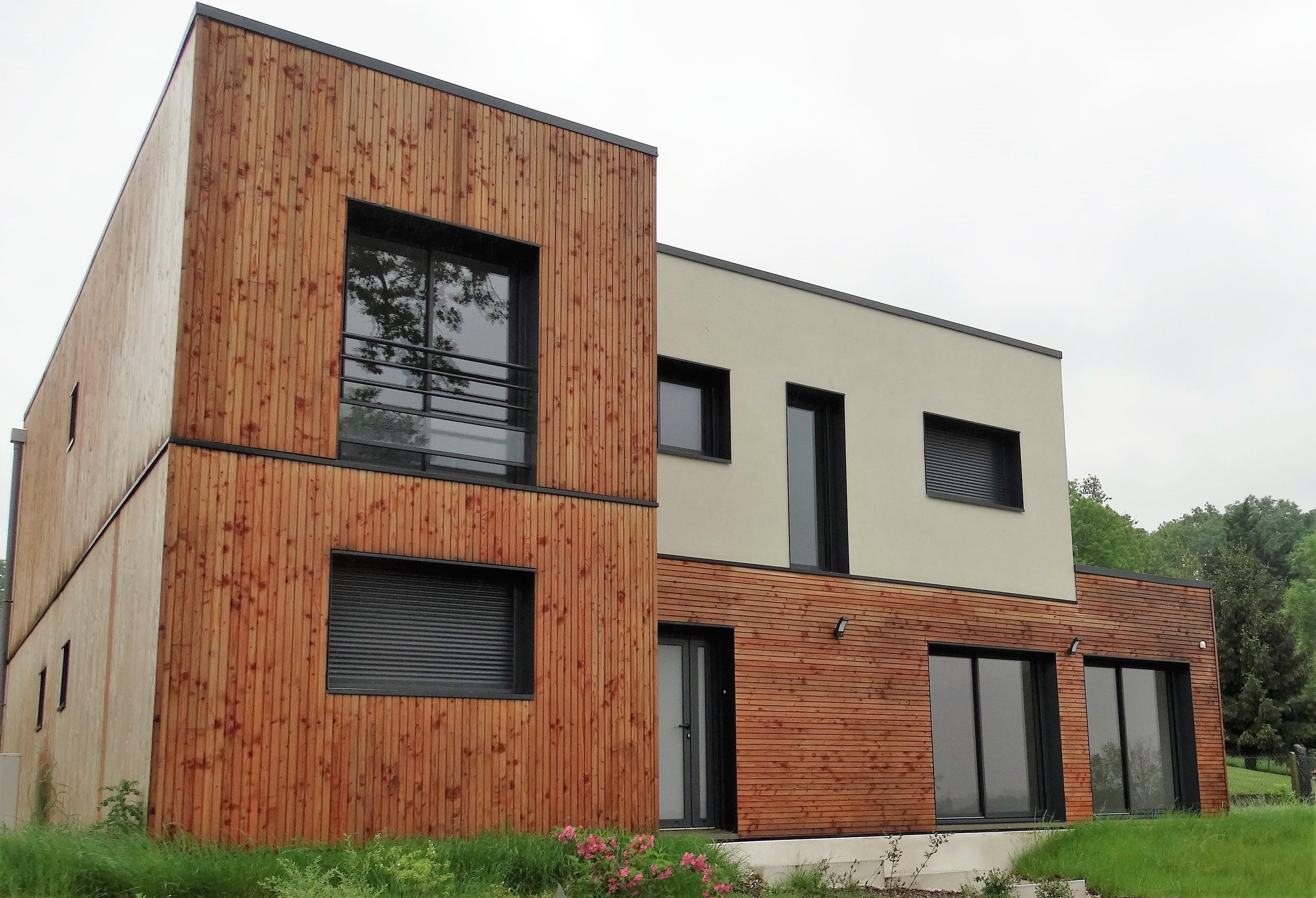 votre maison ou extension en bois sur mesure avec habitat poulingue. Black Bedroom Furniture Sets. Home Design Ideas