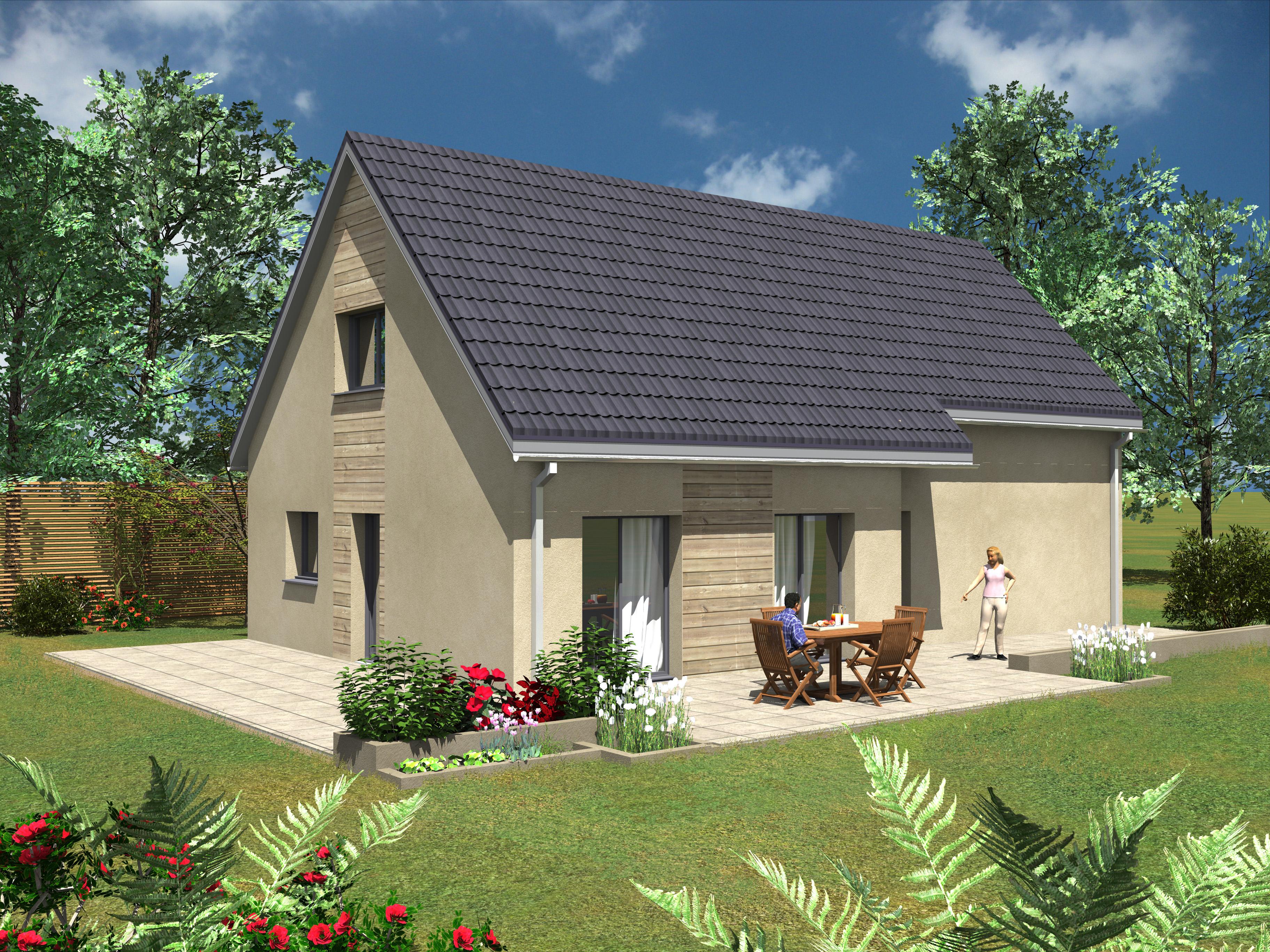 esprit traditionnel 14 habitat poulingue. Black Bedroom Furniture Sets. Home Design Ideas