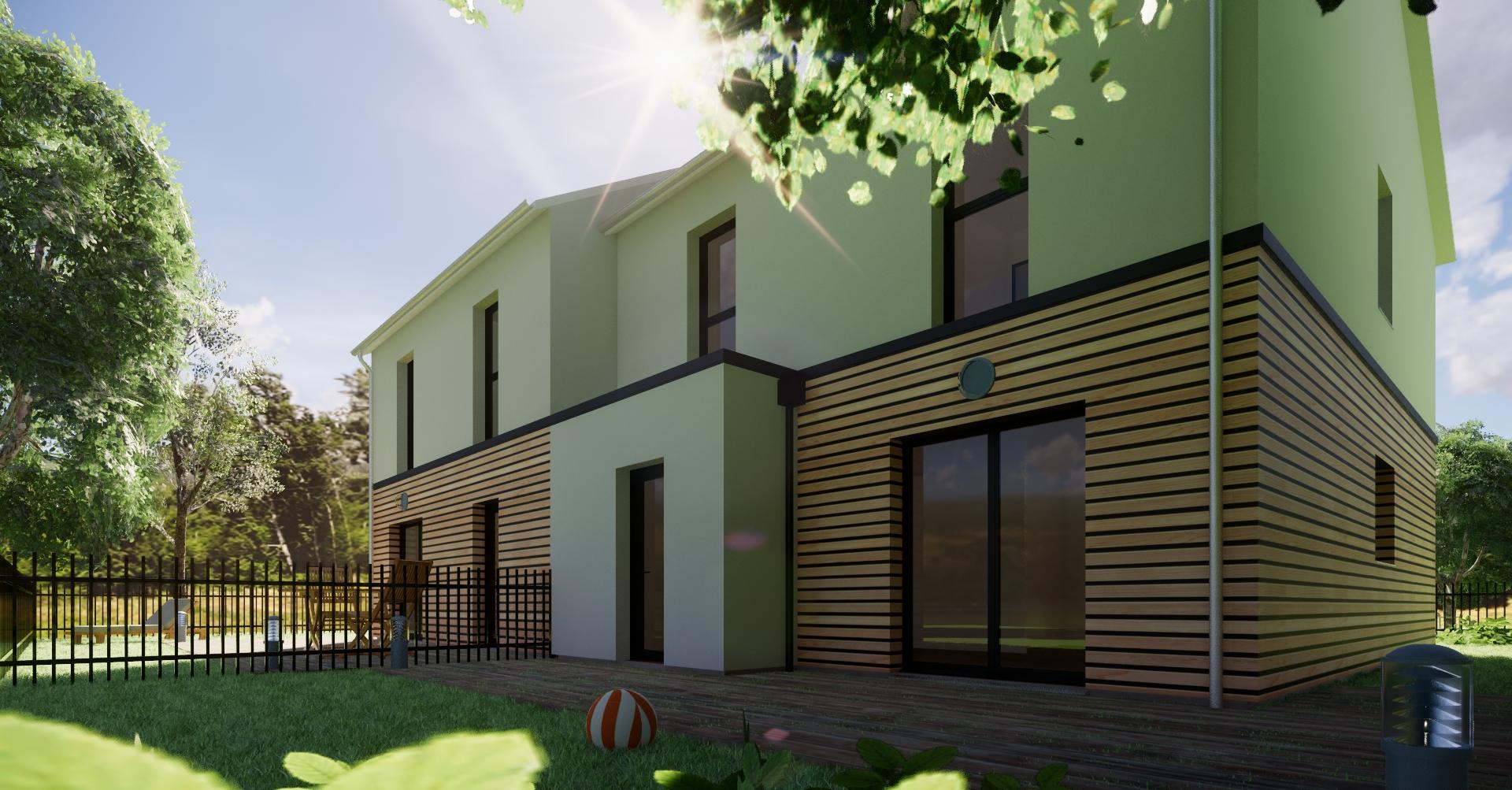 maison terrain aux alluets le roi a partir de 318 000 euros habitat poulingue. Black Bedroom Furniture Sets. Home Design Ideas