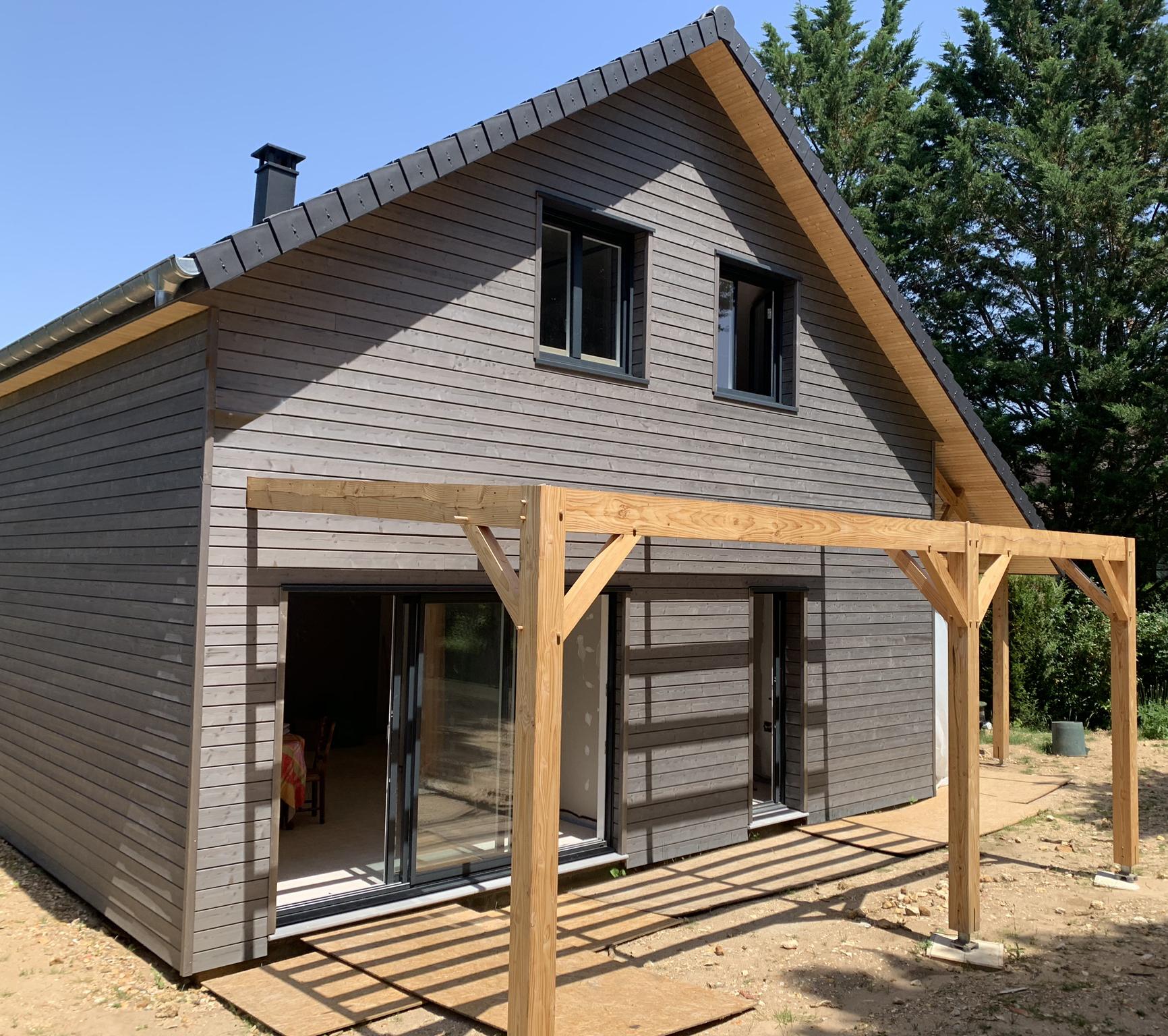 Maison En Bois Normandie habitat poulingue · construction de maison en bois en